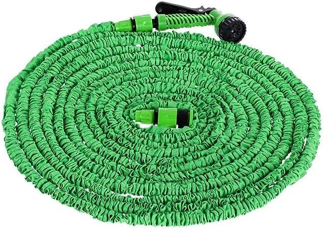 Pistola Agua Multifuncional Manguera de Jardín, Manguera Compacta Expandible para Todas Las Necesidades de Riego, Boquillas Multifunción para Lavado de Autos, Limpieza, Céspedes de Jardín Y Jardines P: Amazon.es: Hogar