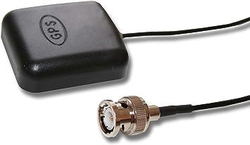 Antena GPS Externa conexión Activa con 5 Metros de Cable, Compatible con Garmin GPSMAP 180, GPSMAP 182, GPSMAP 182C, NavTalk Pilot, StreetPilot, etc.