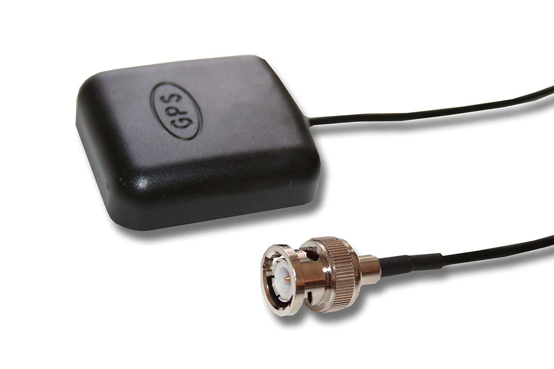 Antenna GPS esterna adatta con cavo di collegamento da 5m per Garmin GPS 100, 100h GPS, GPS 120, GPSMAP, NavTalk, StreetPilot ecc vhbw 12868