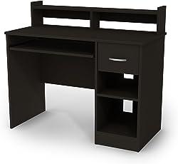 office desk black. South Shore Axess Collection Desk Office Black