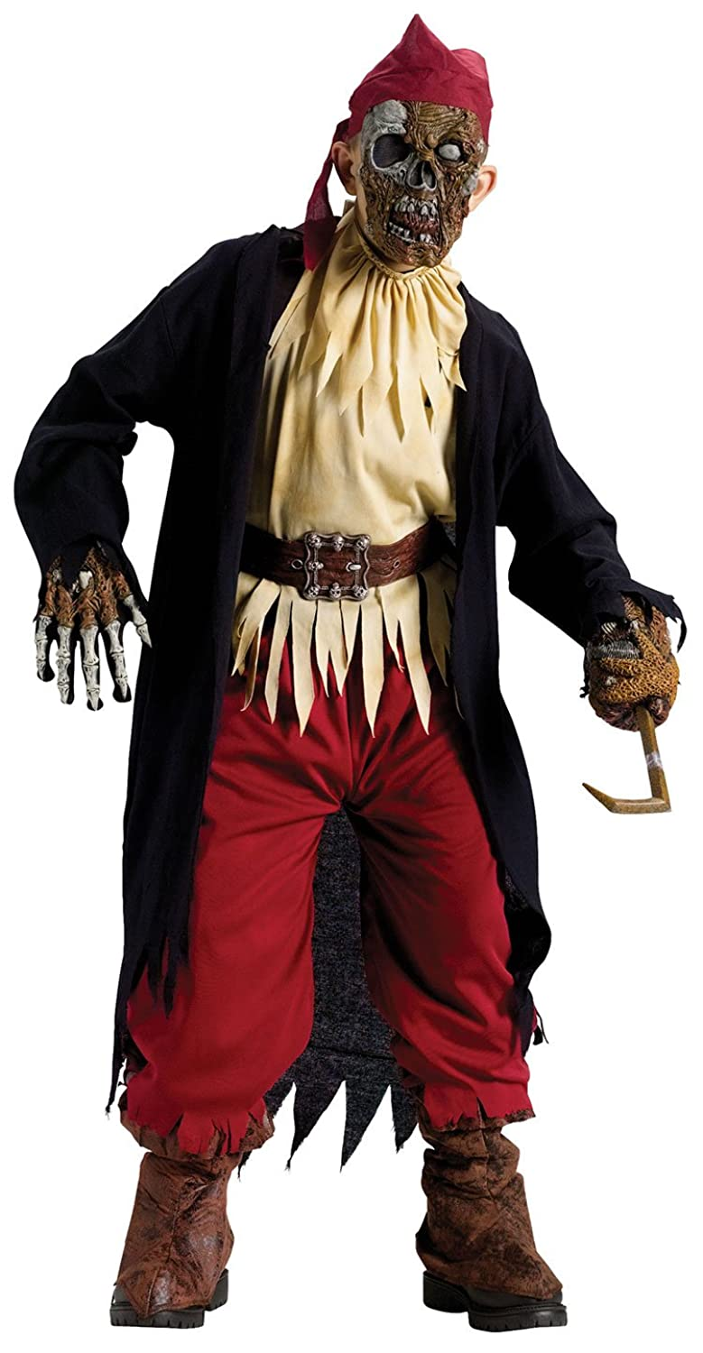 amazon com kids pirate zombie costume child medium clothing