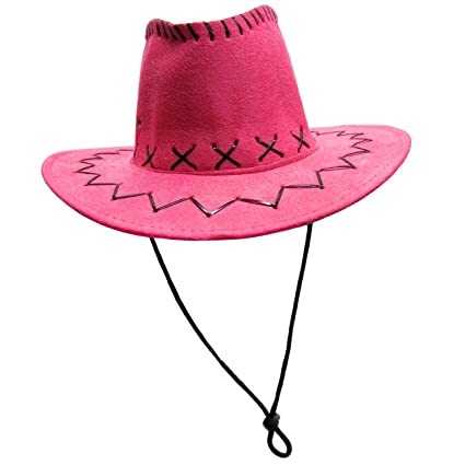 fc08ce88844 Amazon.com  Jacobson Hat Company Child s Faux Suede Cowboy Hat with ...
