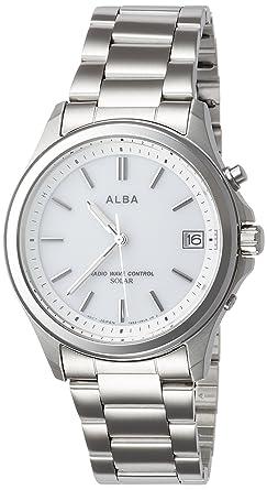 huge selection of e50b9 e2fbf [セイコーウォッチ] 腕時計 アルバ ソーラー電波 AEFY504 シルバー