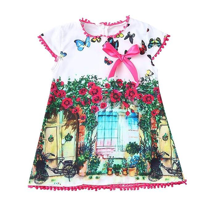Paolian Vestido Para Nina Fiesta Verano 2019 Vestido Princesa Bebe