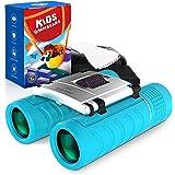 Binoculars for Kids, Compact Kids Binoculars for Boys and Girls Bird Watching, High-Resolution Real Optics 8x22 Kids…