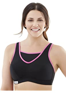 fe34d952b8412 Glamorise Women s Full Figure No-Bounce Camisole Wirefree Sports Bra  1066