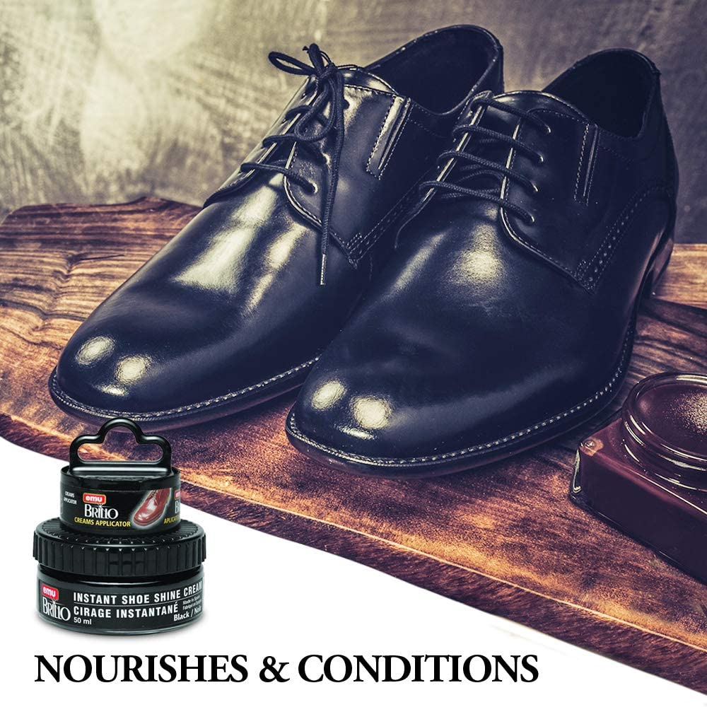 6 Six SHOE SHINE SPONGE for POLISHING Mens or ladys Shoes