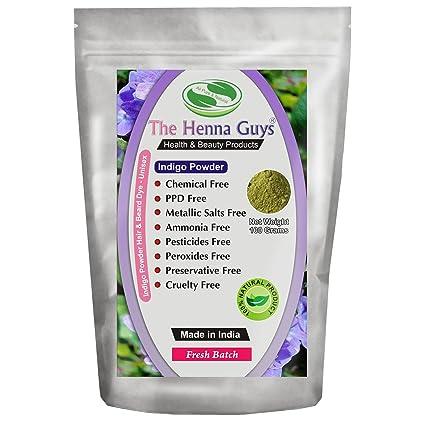Buy Indigo Powder Hair Beard Dye Color 100 Grams The Henna