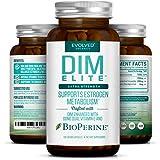 Extra Strength DIM 250mg - Plus Dong Quai, Vitamin E & BioPerine (2-4 month supply) - DIM Supplement for Menopause Relief, PCOS Treatment & Hormonal Acne - Aromatase Inhibitor - 120 Vegan Caps 