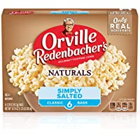 Orville Redenbacher's Naturals Simply Salted Microwave Popcorn, 3.29 Oz, 6 count