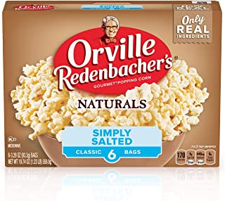 product image for Orville Redenbacher's Naturals Simply Salted Microwave Popcorn, 6-Count (Pack of 6)