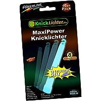 10 Bâtons lumineux fluorescents VERTS CARAIBES - Puissance MAXXX ! Très épais - 150 x 15 mm! Dernière génération