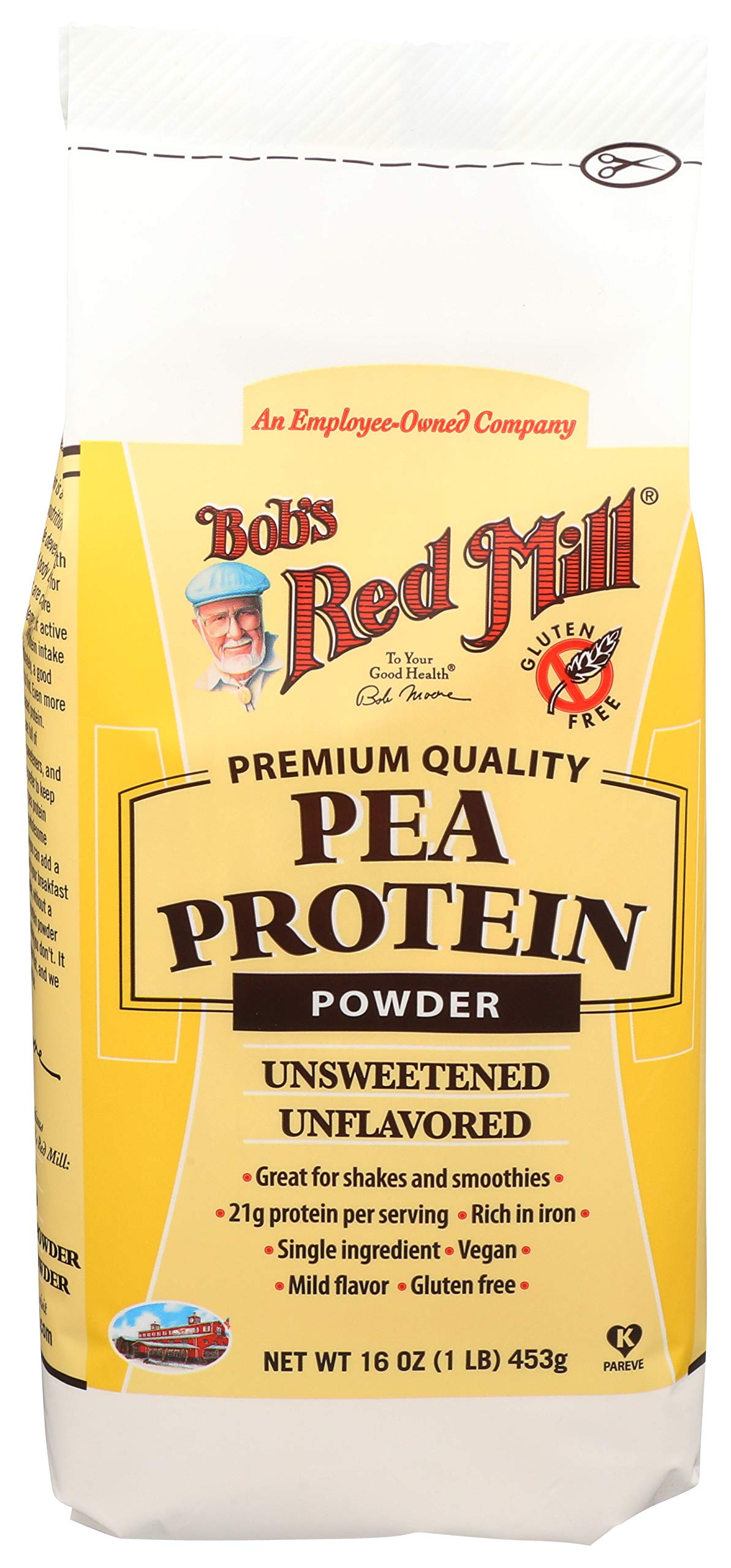 Bob's Red Mill Pea Protein Powder, 16 Ounce by Bob's Red Mill
