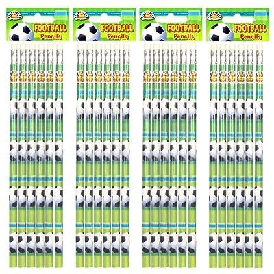 24 x Lápices De Fútbol - REFERENCIA PBF083: Oficina y papelería