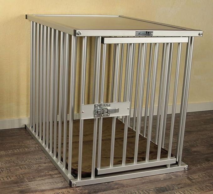 """6 opinioni per Premium gabbia di alluminio, taglia """"L"""", Callieway® Dogcrate """"Pro"""""""