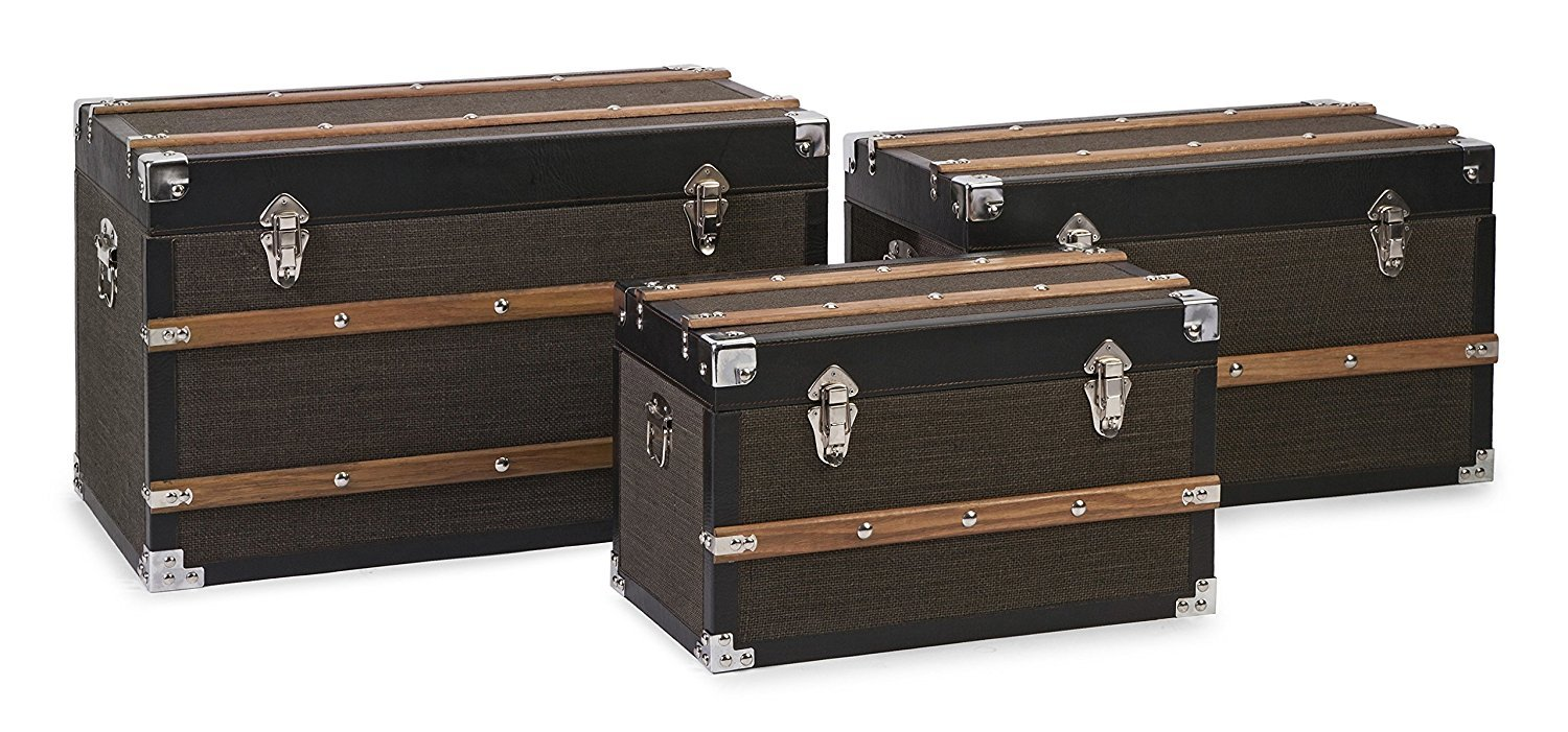3-PC Refined Schultz Trunk Set