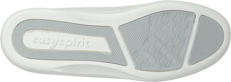 Easy Spirit AP1 Chaussures de randonnée pour femme Noir White Leather