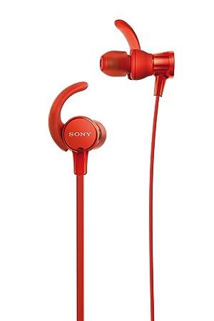 Sony MDR-XB510ASR - Auriculares intraurales Extra Bass (diseño Lavable Resistente al Agua IPX5/7, micrófono con Mando Integrado Compatible con Smartphones) ...