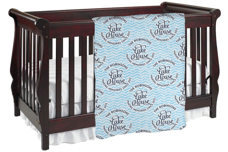 Lake House # 2 Baby Blanket ( Personalized ) Baby Blanket ブラック mi-baby-blanket-fb+1018278 両面  B0764KFSFJ