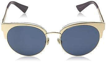 Christian Dior Damen Sonnenbrille DIORAMAMINI KU DDB, (Gold Copper Bluee  Avio), 54  Amazon.de  Bekleidung 974efdbacd09
