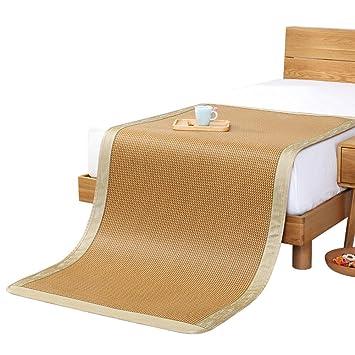 LJ&XJ Ratán Mat Superior colchón de enfriamiento,Plegable ...