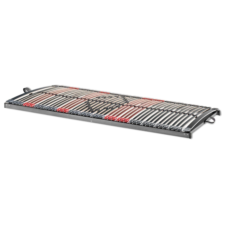 Betten ABC 7-Zonen Lattenrost Max Premium NV   Lattenrahmen in 120 x 200 cm mit 44 Leisten und Mittelzonenverstellung - geeignet für alle Matratzen