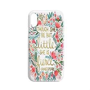 Covery Cases Tough She Be But Little She Is Fierce Mobile Cover For iPhone XS Max - Multi Color