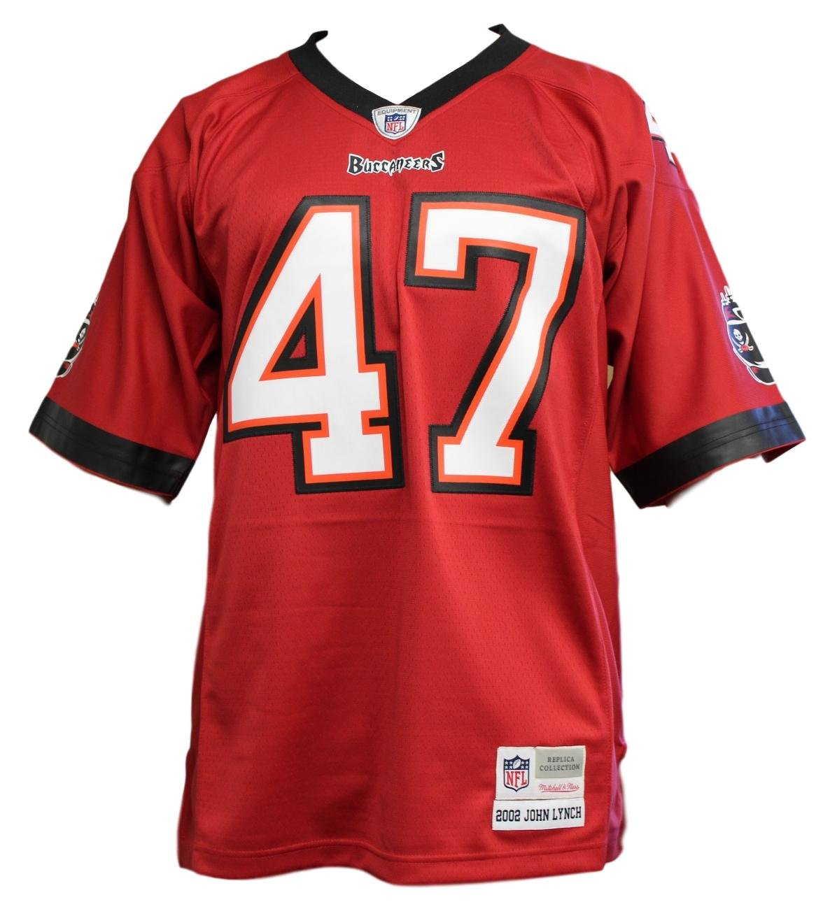 Amazon.com   Mitchell   Ness Tampa Bay Buccaneers John Lynch Throwback  Replica Jersey   Sports   Outdoors 535c258fc