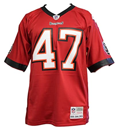 2314490f4 John Lynch Tampa Bay Buccaneers Mitchell   Ness Red Throwback Replica Jersey  (Small)