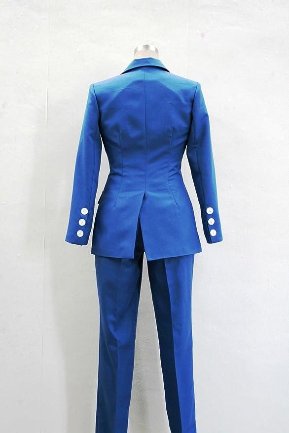 Ace Attorney Phoenix Wright Naruhodo Ryuichi Blue Suit Cosplay Costume  (Custom Made): Clothing - Amazon.com