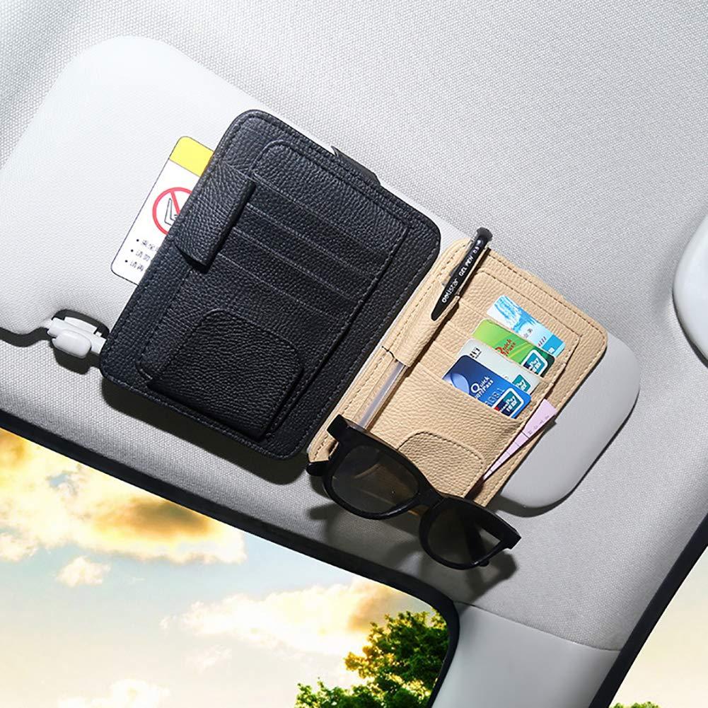 LKW Auto Zubeh/ör Dokumentenhalter lymty Auto Sonnenblende Organizer SUV Registrierung Versicherung Aufbewahrungstasche Road Trip Essential Geschenk f/ür jeden Fahrer Auto