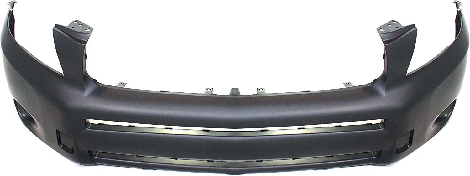 Bumper Cover For 2001-2003 Toyota RAV4 With Fender Flare Type Front Textured