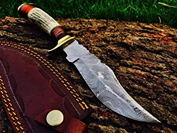 Amazon.com: AJ Blade AJ-148 - Cuchillo de caza de acero ...