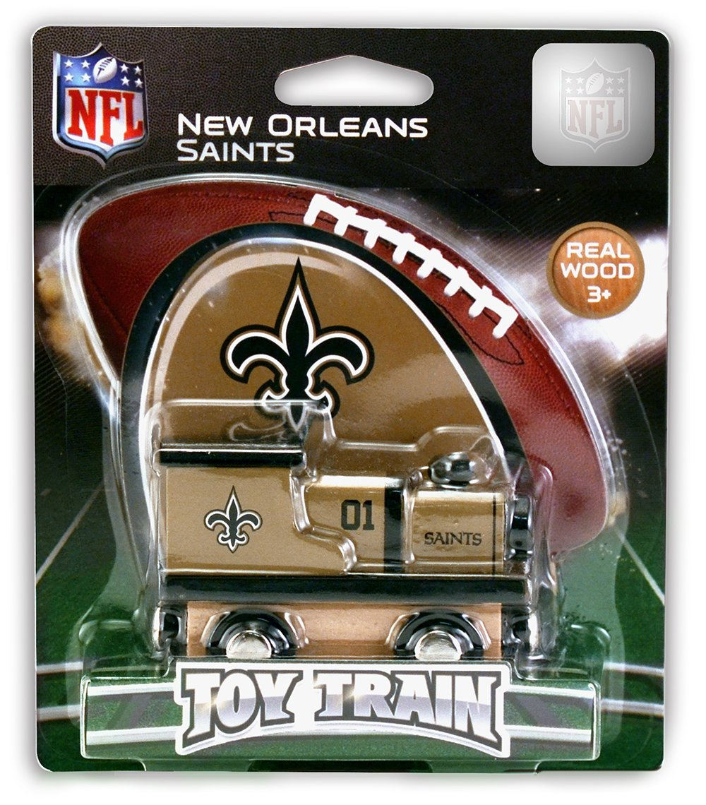 For Ages 3+ MasterPieces NFL New York Giants Real Wood Toy Train