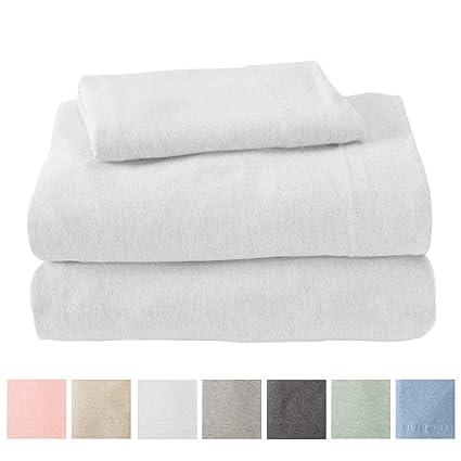 Amazon.com: Great Bay Home juego de sábanas de algodón de ...
