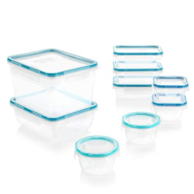 Snapware Total Solution Plastic Food Storage Container Set (18-Piece)