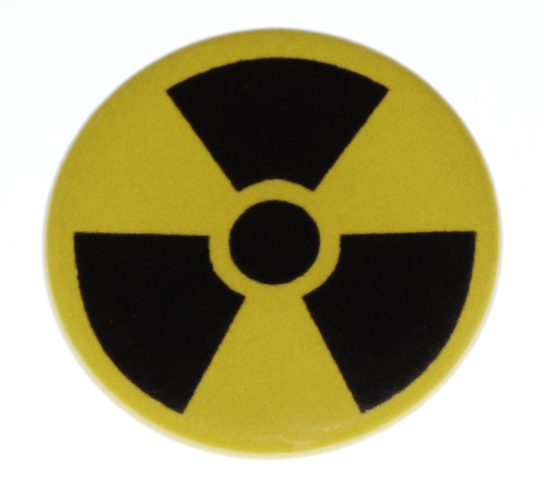 Amazon radioactive symbol pinback button 125 pin badge amazon radioactive symbol pinback button 125 pin badge hazard radiation lab clothing biocorpaavc Gallery