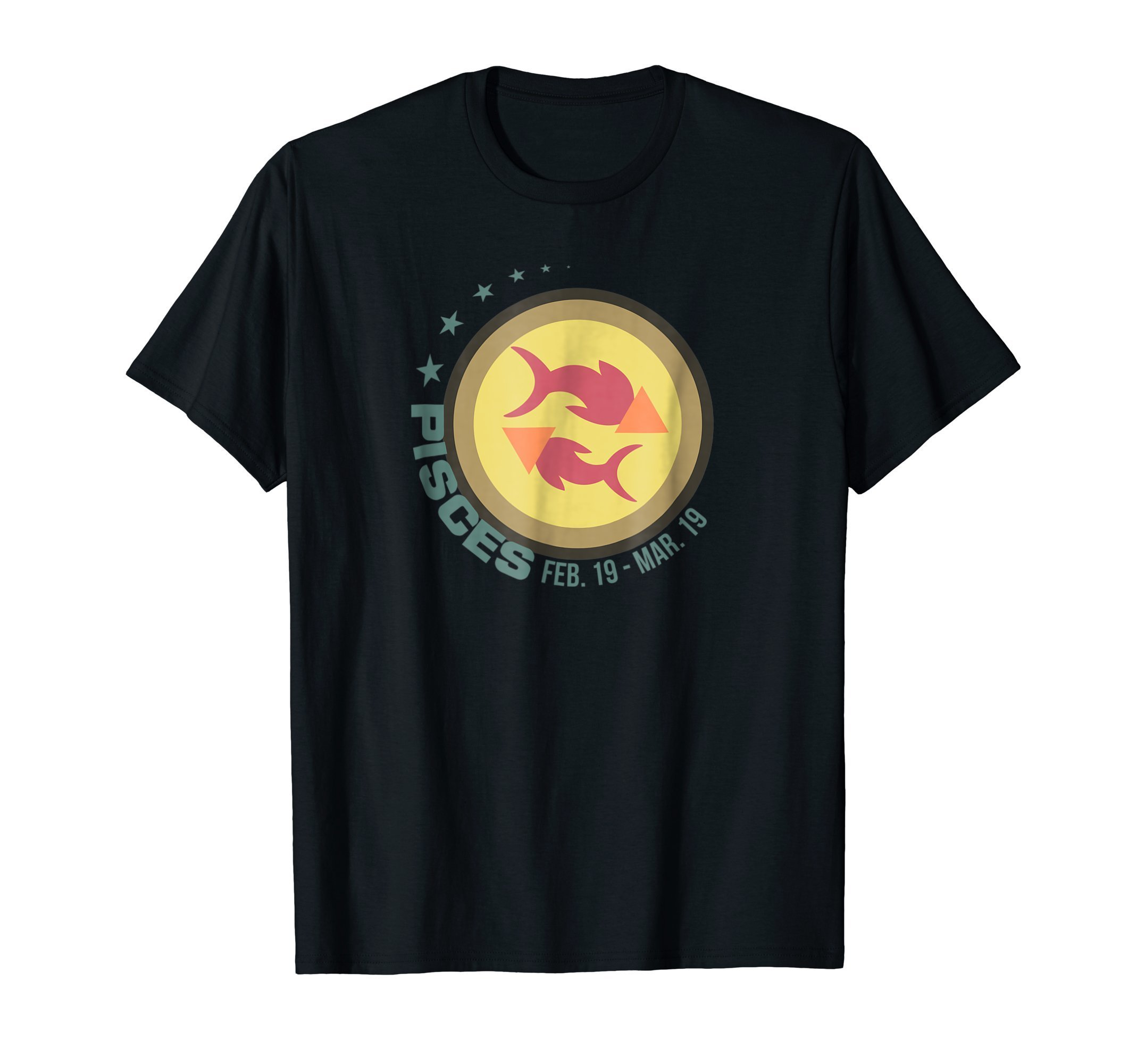 Pisces Zodiac Sign T Shirt