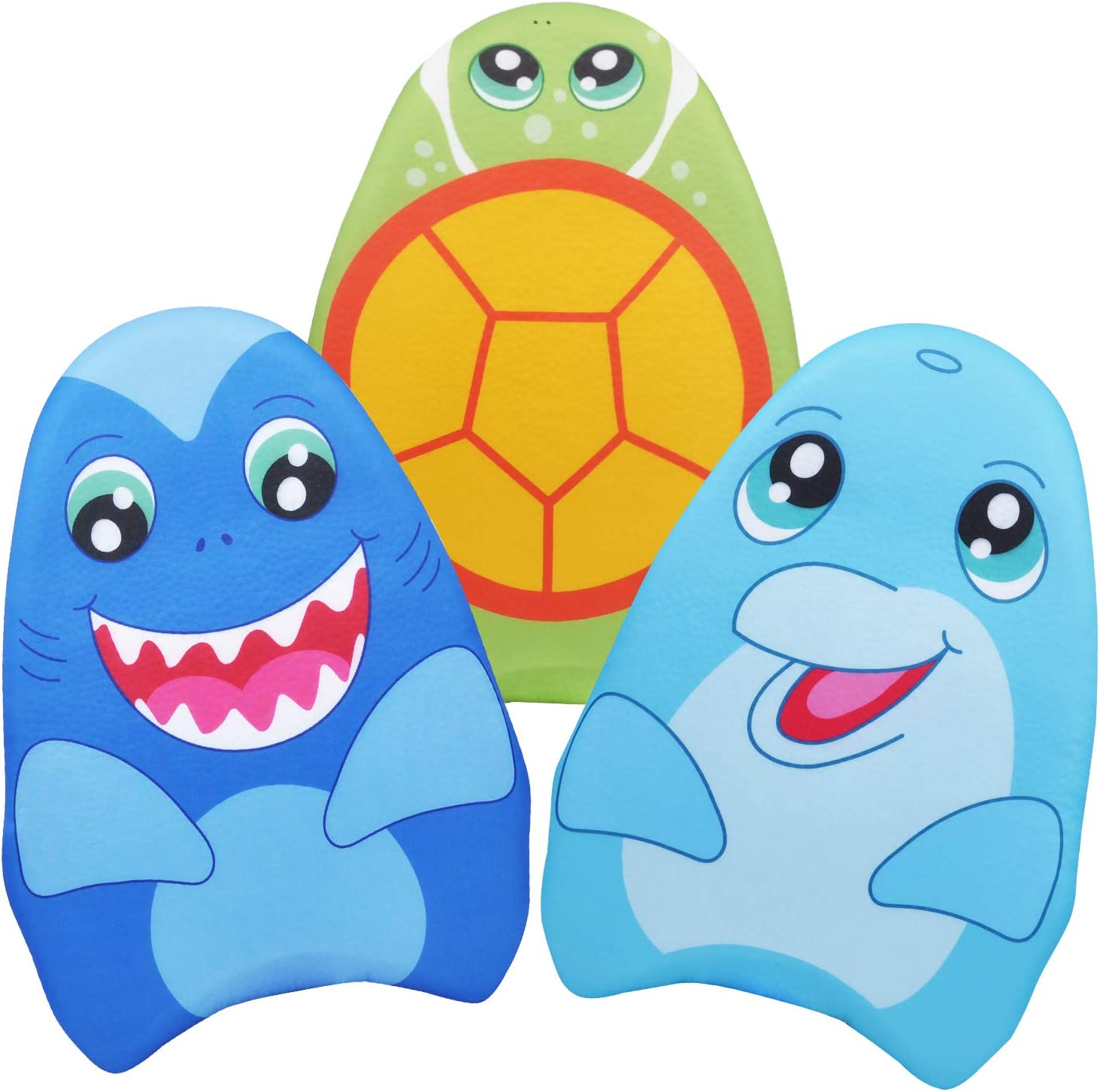 JOYIN Learn-to-Swim Kickboard Shark, Dolphin, Sea Turtle for Kids Summer Fun, Party Favor, Summer Swim Time, Pool Toys, Classroom Prices