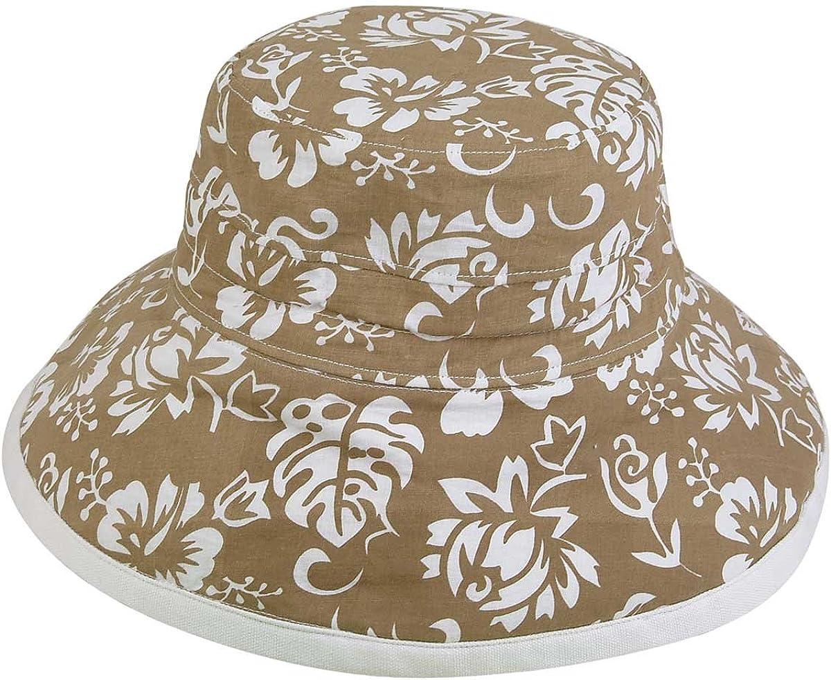 Floral Bucket Hat Cotton...