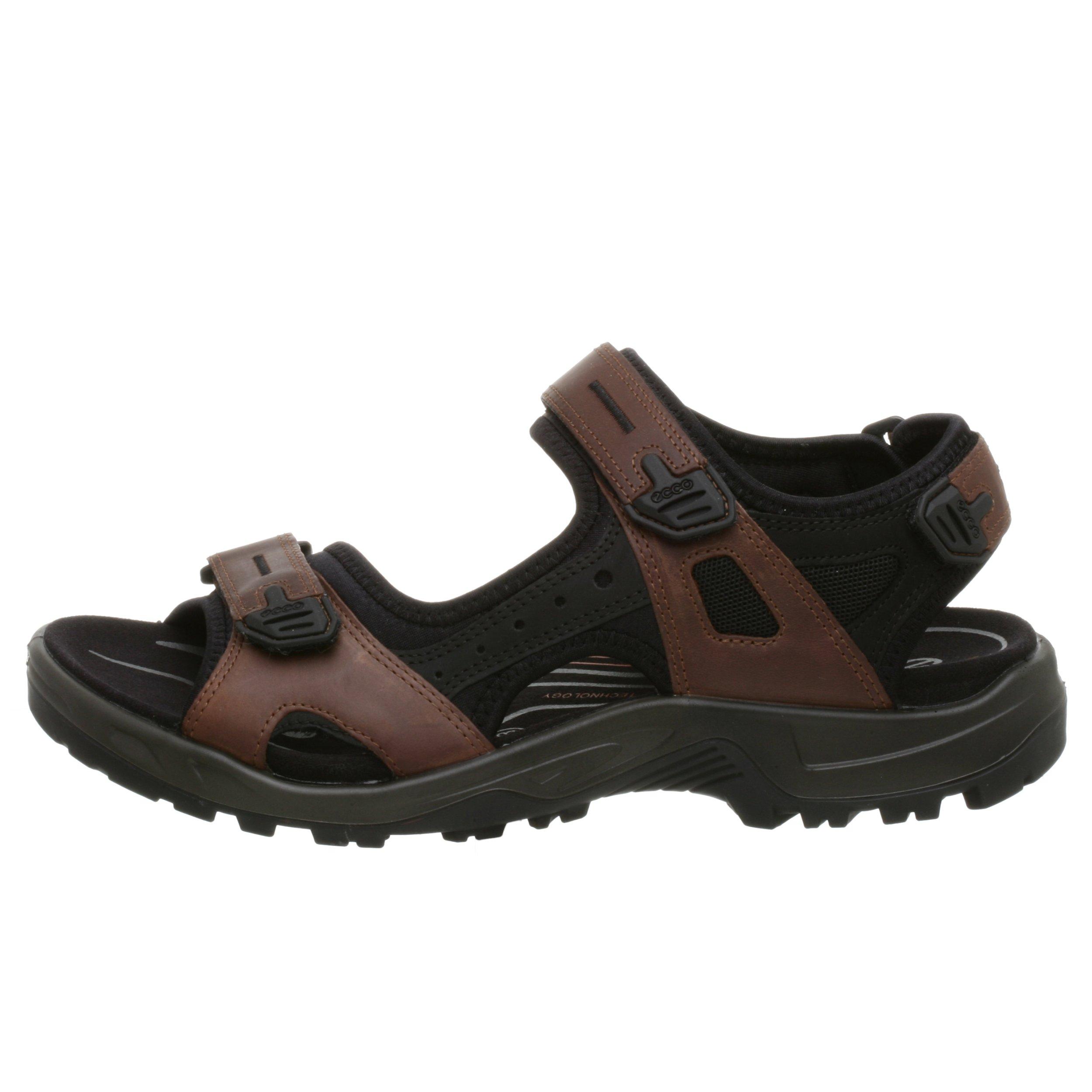 ECCO Men's Yucatan Sandal,Bison/Black/Black,44 EU (US Men's 10-10.5 M) by ECCO (Image #5)