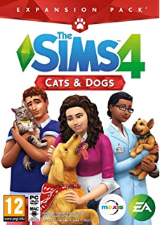The Sims 4 Cats And Dogs PC Mac Download Boxed Version