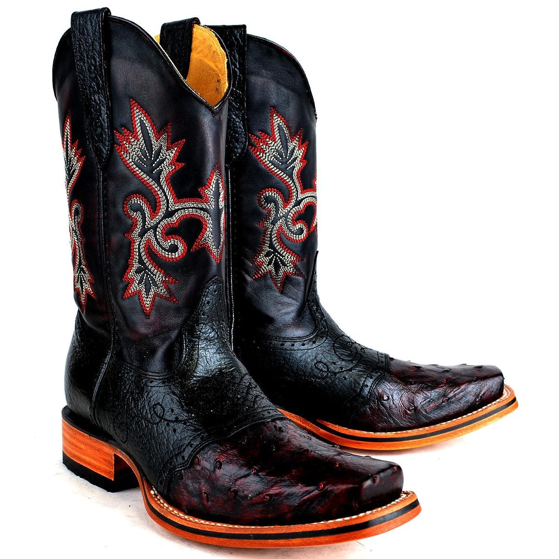 Original Rodeo Ostrich Full Quill Boot