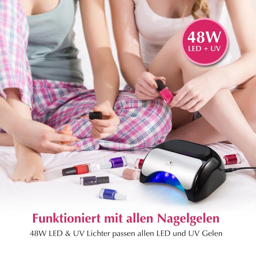 Nagel Lampe mit LED – Uspicy UV für Nägel 1