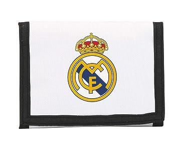 Real Madrid Billetera, equipación 2017/2018 (SAFTA 811754036), Color Blanco 12 cm (: Amazon.es: Juguetes y juegos