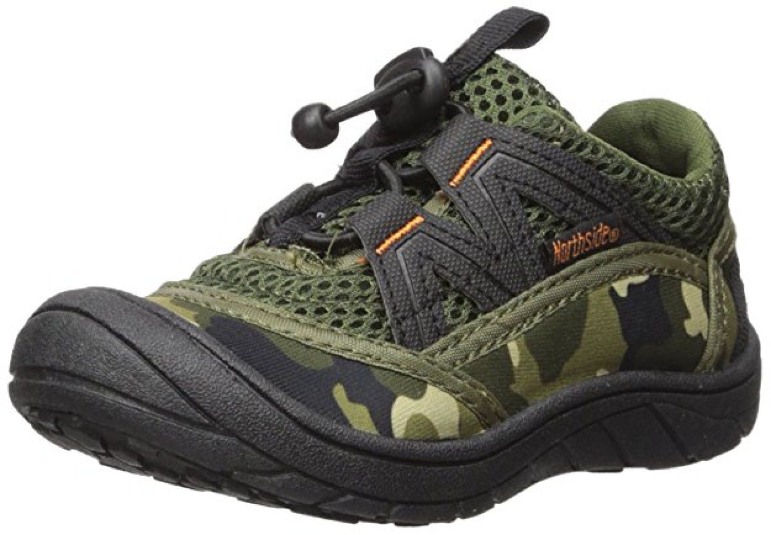 Northside Kid's Brille II Summer Water Shoe, Camo, 6 M US Toddler; with a Waterproof Wet Dry Bag