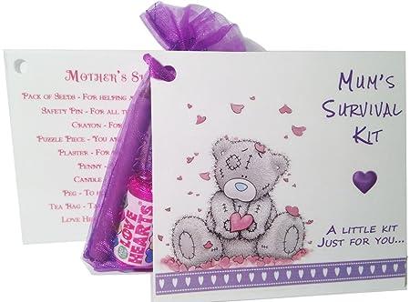 Kit de supervivencia para mamá. Tarjeta de recuerdo y regalo ...