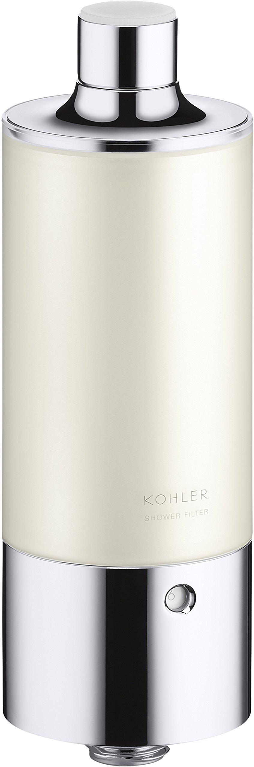 Kohler 30646-CP Aquifer Shower Water Filtration System, Reduce Chlorine and Odor, Includes Filter Replacement by Kohler (Image #2)