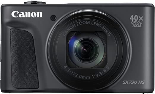 Canon PowerShot SX730 HS - Cámara digital de 20.3 MP (Video Full HD, WiFi, Bluetooth) Negro: Canon: Amazon.es: Electrónica