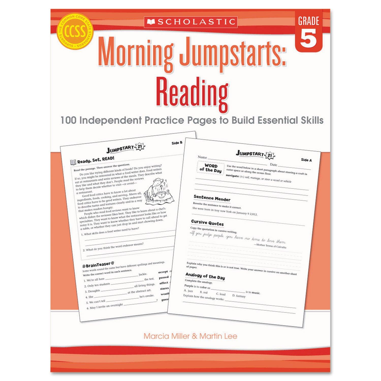 Amazon Com Shssc546424 Morning Jumpstart Series Book Industrial